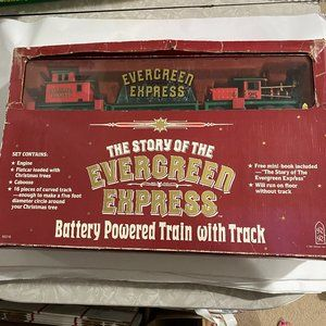 Evergreen Express Train Set by Roman Christmas